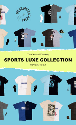 The Grandad Company Sports Luxe Collection