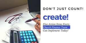 Church Finance Team Action Plan