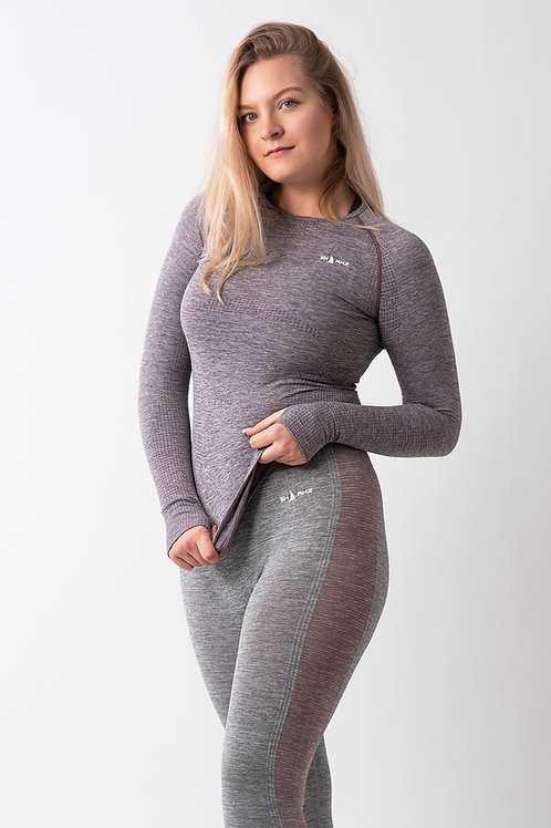SEAMLESS LONG SLEEVE TOP  ALPEN
