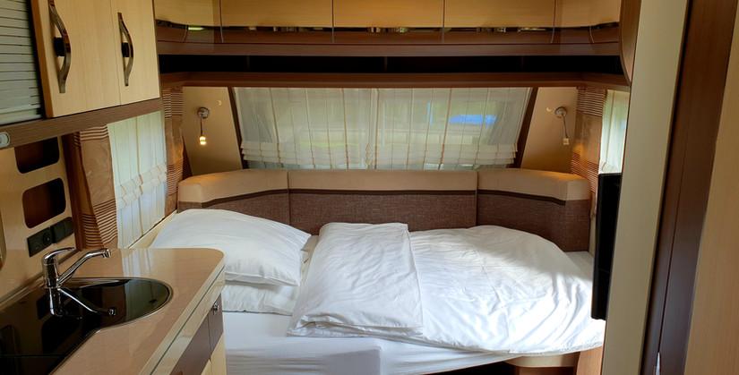 Doppelbett/Sitzecke