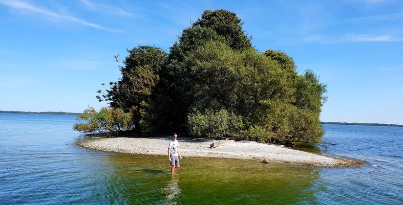 Insel im Schweriner Außensee