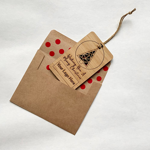 Bamboo Ornament Card