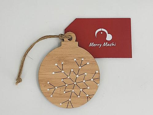 Handpainted Dot Ornaments