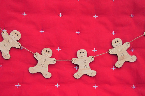 Gingerbread Person Bunting