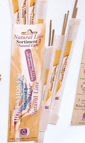 """Holy Smokes Natural Line""""Natural Light"""" Sortiment 2"""