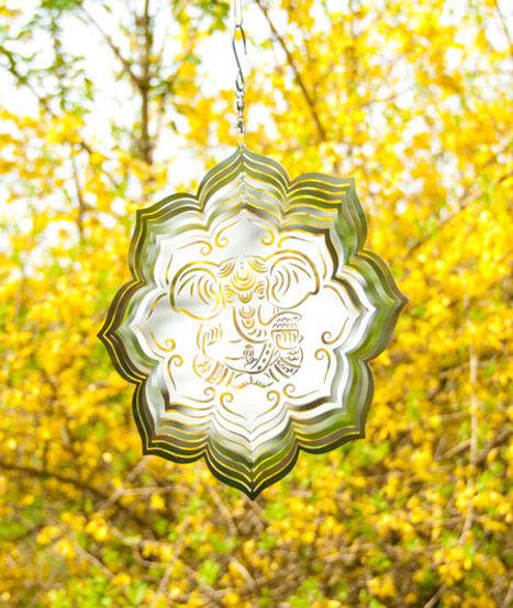 Windspiel Ganesha Lotus Mobile