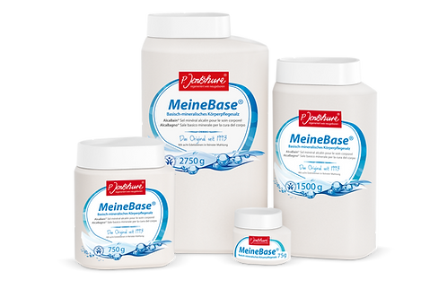 Meine Base - basisch-mineralisches Körperpflegesalz