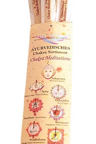 "Holy Smokes Chakra Line Sortiment ""Chakra Meditations"""