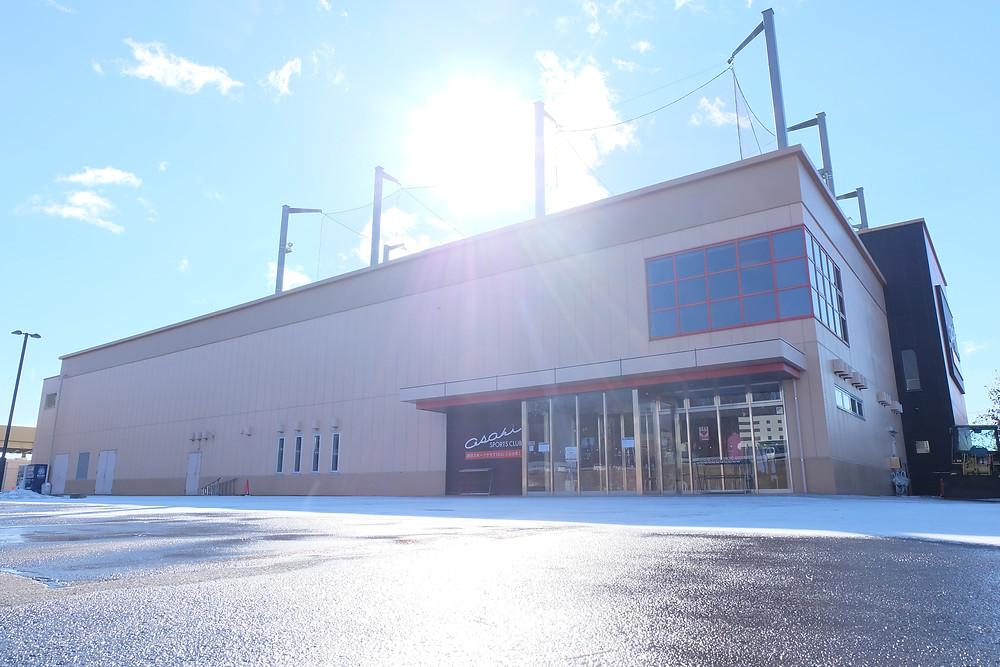 写真は施設写真撮影のご依頼をいただいた朝日スポーツクラブBIG-S仙台泉様