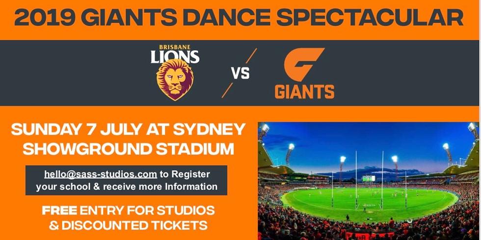 AFL Giants Dance Spectacular - registration deadline 14th June! (1)
