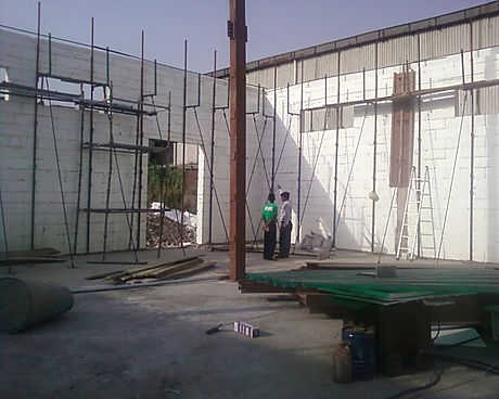 Perfectly straight walls of any height can be made with Reliable ICF for a single floor.