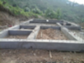 Strip foundation created for a Reliable ICF building by RBS India