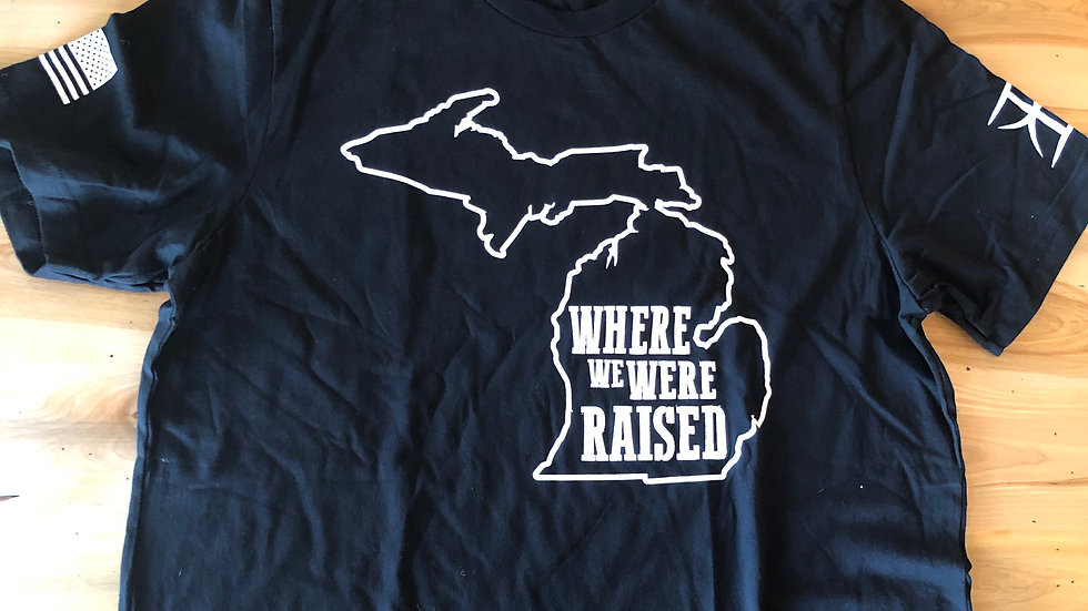 Unisex Michigan Where We Were Raised Tee