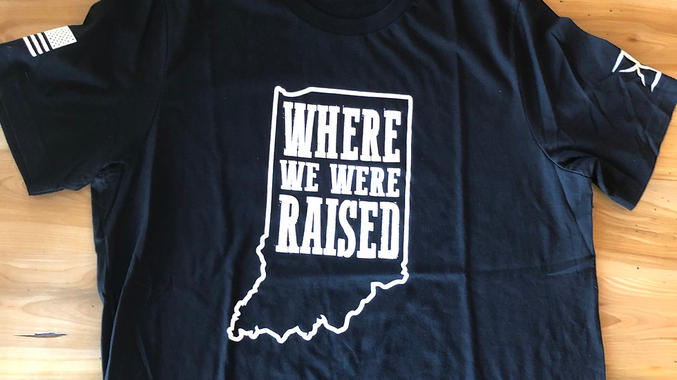 Unisex Indiana Where We Were Raised Tee