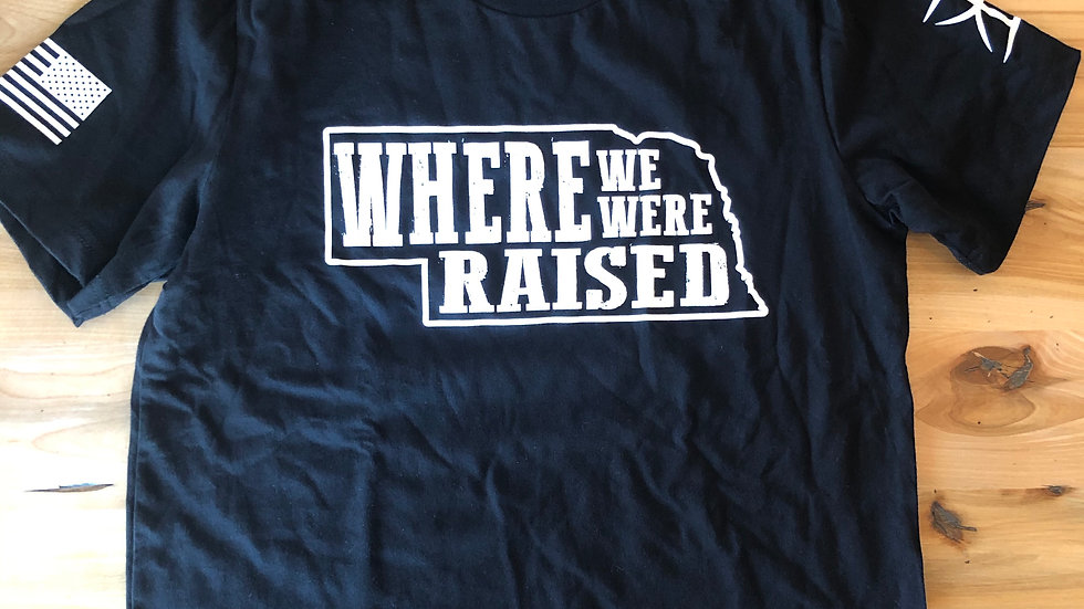 Unisex Nebraska Where We Were Raised Tee