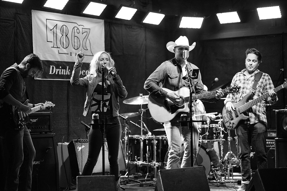 Country Rock Band in South Dakota, North Dakota, Oklahoma, USA