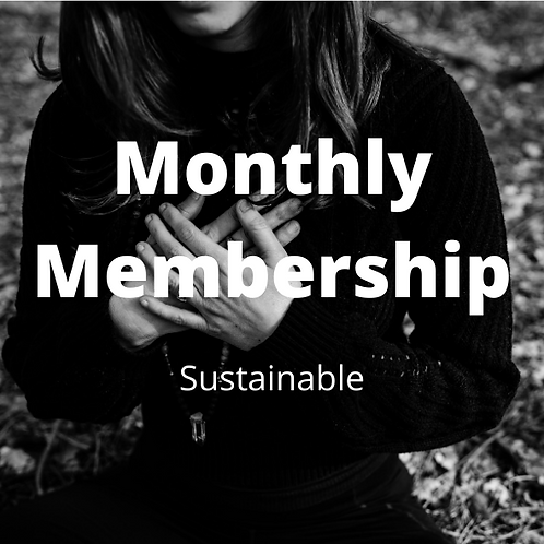 Monthly Membership - Sustainable