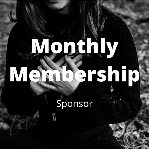 Monthly Membership - Sponsor