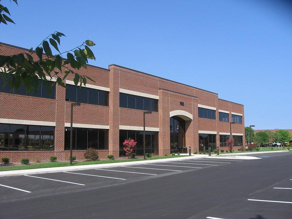 Lane Building with Flowers.JPG