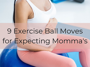 Expecting Momma? Try these 9 Pregnancy Ball Exercise's!