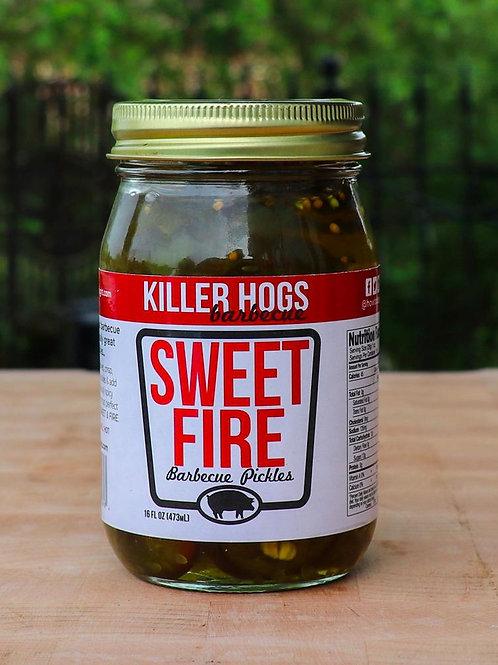 KILLER HOGS SWEET FIRE BBQ PICKLES