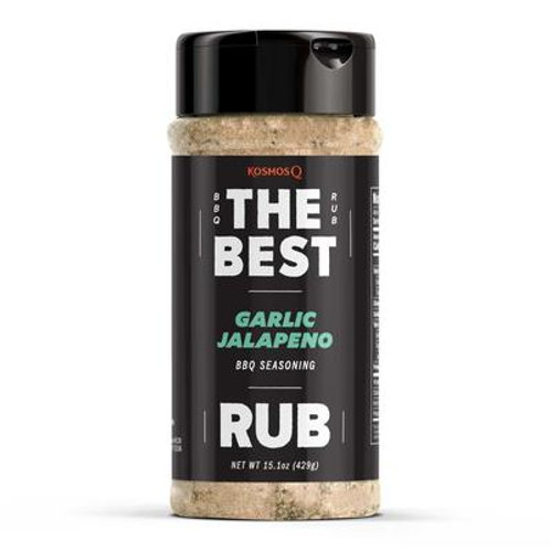 KOSMOS Q - THE BEST GARLIC JALAPENO RUB