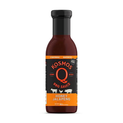 KOSMOS Q - HONEY JALAPENO BBQ SAUCE