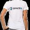 SpaceIL – Woman White T-shirt