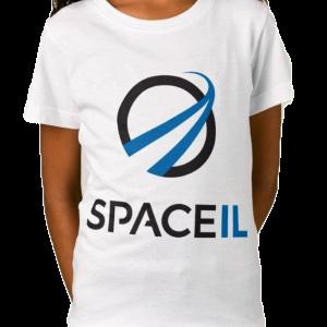 SpaceIL – Girl White T-shirt