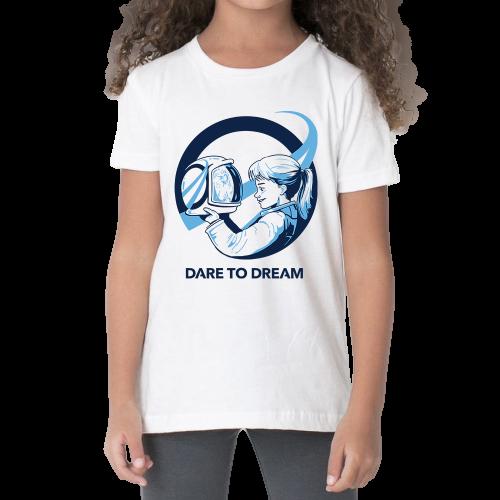 חולצת ילדים יוניסקס – להעיז לחלום