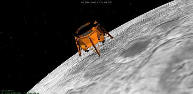 שידור חי, לכידת הירח