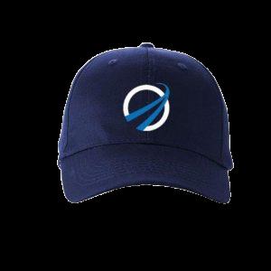 SpaceIL Logo Cap – Navy Blue