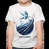 חולצת ילדים – יושבים על קצה הירח