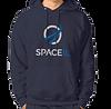 SpaceIL – Navy Blue Kangaroo Hoodie