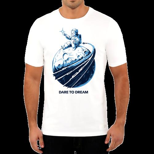 חולצת יוניסקס – יושבים על קצה הירח