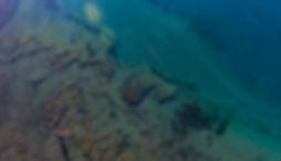 Lago Strobel desde el aire