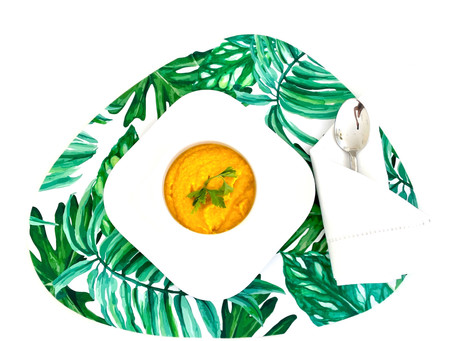 Coconut Gingered Carrot Soup