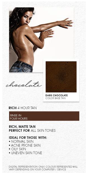 Chocolate Spray Tan