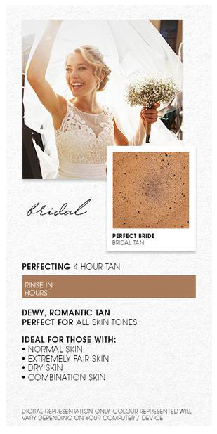 Bride Spray Tan
