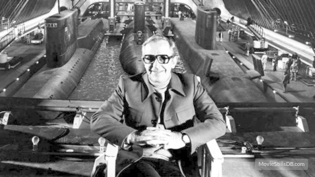 The late great, Lewis Gilbert - he directed three of the Bond movies, including The Spy Who Loved Me, which in my view had the best action sequence of any film, of all time