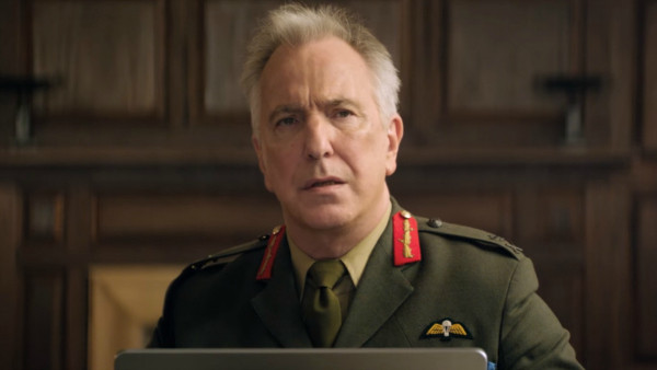 The late, fantastic Alan Rickman in the excellent 'Eye in the Sky'