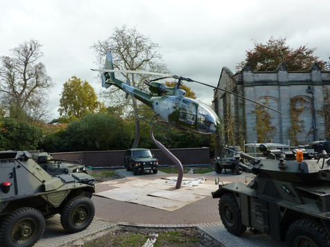(35) Helicopter Stand for Duke of Westminster