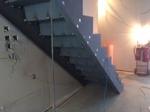 (64) Sawtooth stairs