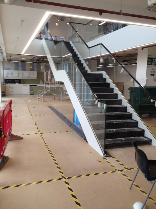 (14) Feature staircase for Telecoms company