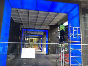 (37) Portal frames, Lower Thames Street
