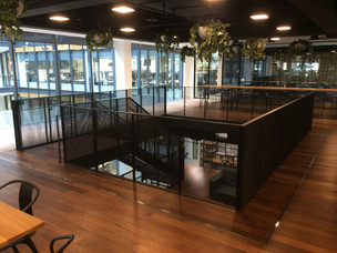 (1) Mid city Place feature staircase with mezzanine meeting room