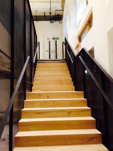 (43) Steel and timber staircase for Woods Baggott