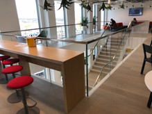 (16) Feature staircase for Telecoms company