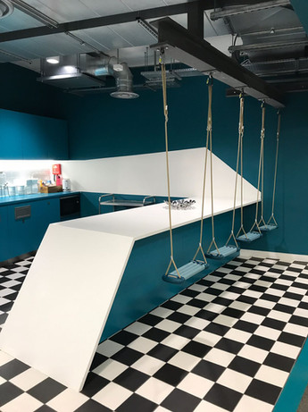 (25) Tea point swings advertising agency Soho