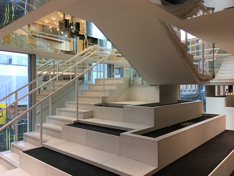 (12) Soho feature staircase - Advertising agency